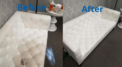 clean white couch that looks great