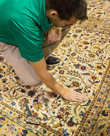 Professional Area and Oriental Rug Cleaning in Thousand Oaks by Blue Ribbon Chem-Dry