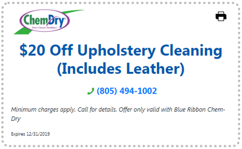 $20 off leather upholstery cleaning coupon
