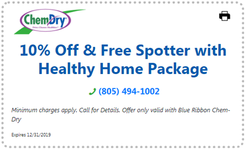 10% off and free spotter with Healthy Home package